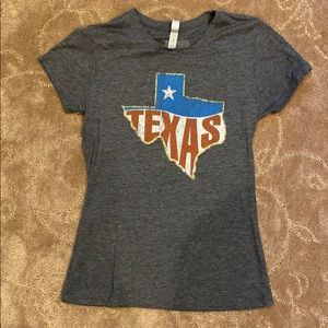 Tyler's Texas T-shirt gray